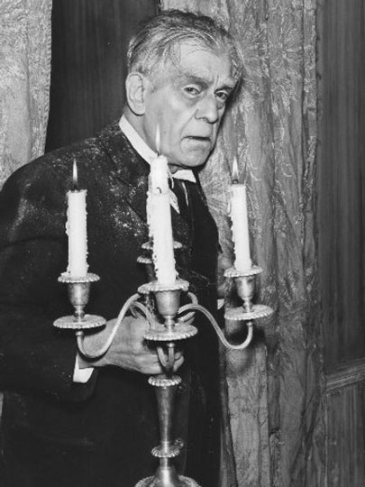 Boris Karloff as The Incredible Doktor Markesan