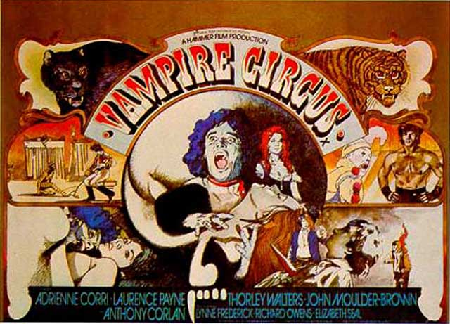 DVD of the Week: Vampire Circus (1972) | Cagey Films