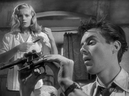 Dirk Bogarde in The Blue Lamp (1950)