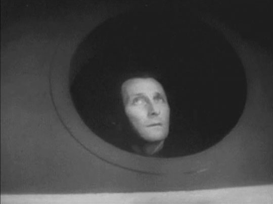 Winston Smith (Peter Cushing) longs for fredom in Nineteen Eighty-Four