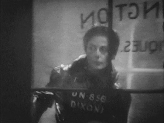 Julia (Yvonne Mitchell) follows Winston into the prole area