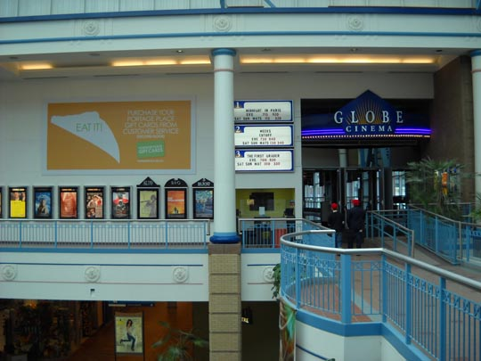 The Globe at Portage Place, now closed
