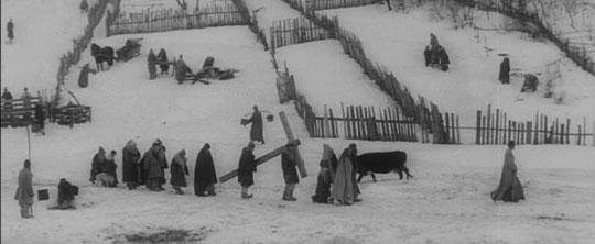 Echoes of Breughel in Andrei Rublev