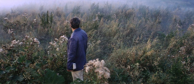 Kris Kelvin (Donatas Banionis) contemplates the ineffable mysteries of life in Tarkovsky's Solaris (1972)