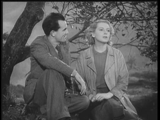 Larry Meath and Sally Hardcastle (Deborah Kerr), hoping for a better future