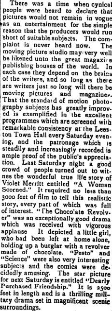 Ellesmere Guardian, New Zealand, November 26, 1913