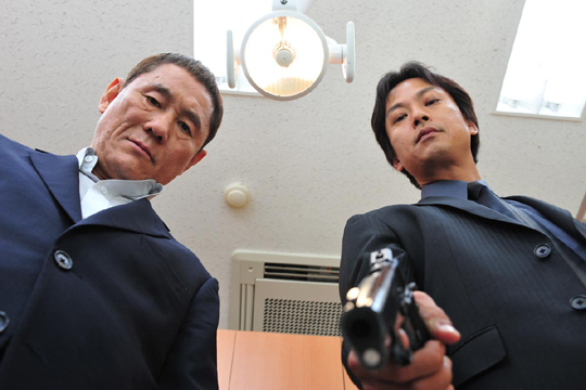 Picture from Takeshi Kitano's 2010 film Outrage