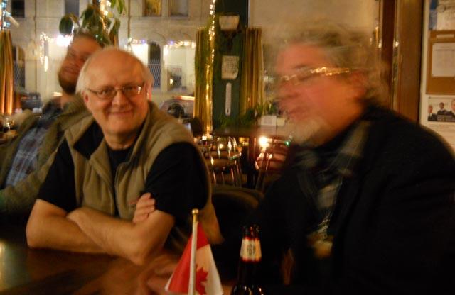 Kenneth George Godwin and experimental filmmaker Craig Baldwin