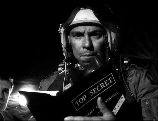 photo of Slim Pickens in Stanley Kubrick's 1964 film Dr. Strangelove