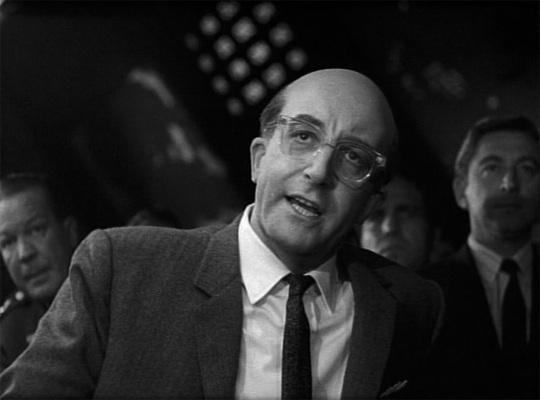 photo of Peter Sellers as President Muffley in Stanley Kubrick's 1964 film Dr. Strangelove