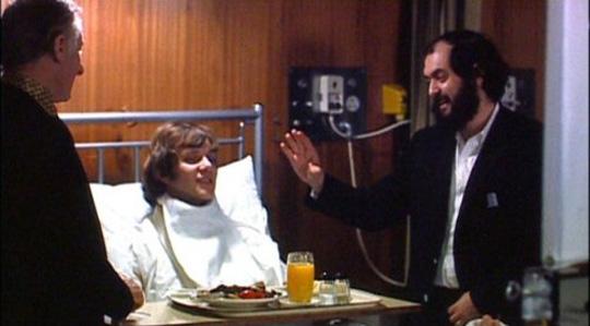 Kubrick directing the final scene