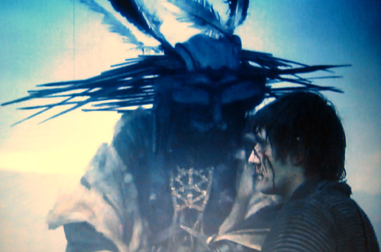 AAn image from Andrzej Zulawski's science fiction masterpiece On the Silver Globe (1988)