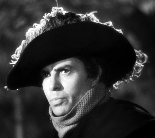 ... and as dashing highwayman Captain Jackson