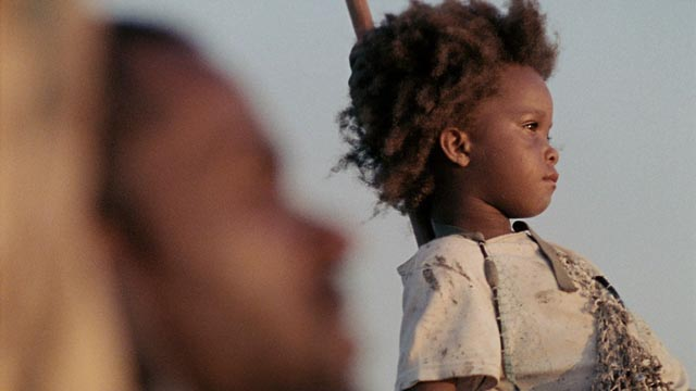 Quvenzhané Wallis and Dwight Henry in Beasts of the Southern Wild
