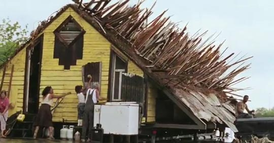 Home reno in Beasts of the Southern Wild
