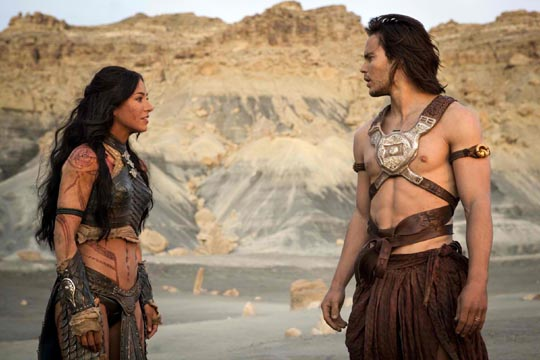 Dejah Thoris & John Carter