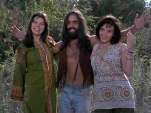 Charlie & friends in The Manson Family