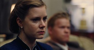 Amy Adams as Dodd's wife, Peggy