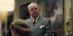 Philip Seymour Hoffman as Lancaster Dodd