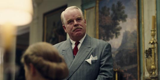 Philip Seymour Hoffman as Lancaster Dodd
