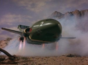 Thunderbird 2 landing