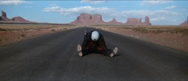 Bleak beauty: the ending of James William Guercio's Electra Glide In Blue (1973)