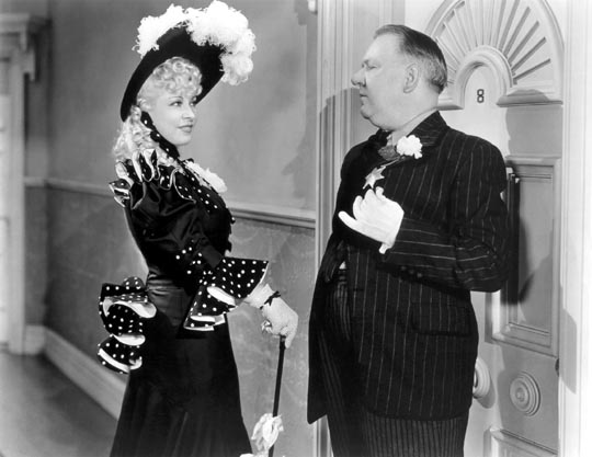 The inimitable W.C. Fields & Mae West in My Little Chickadee