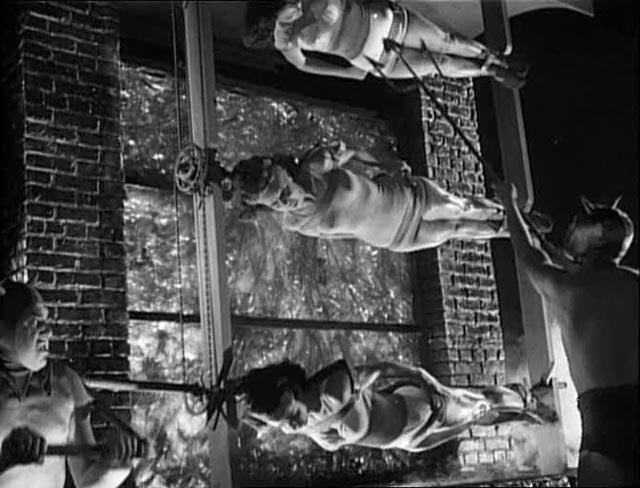 Starlets roasting on an open fire: the opening musical number in Hellzapoppin (1941)