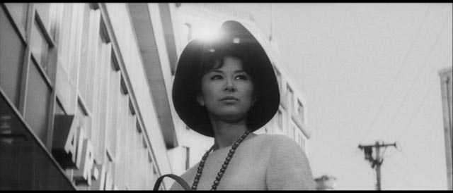 Emblem of conspicuous wealth: Yasuko (Keiko Kishi) in The Inheritance (1962)