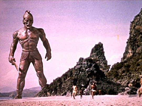 Talos, the bronze giant: Jason & the Argonauts