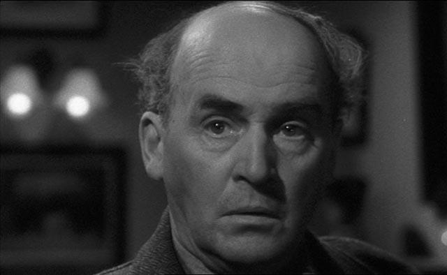 "Barry Jones as the ""terrorist"" Professor Willingdon in Seven Days to Noon (1950)"