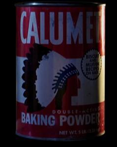 Calumet Baking Powder: sign of genocide?