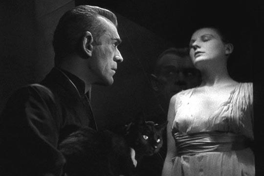 Karloff in The Black Cat