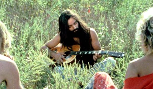 Peace and love: Marcelo Games as Charles Manson in Jim Van Bebber's 2003 film