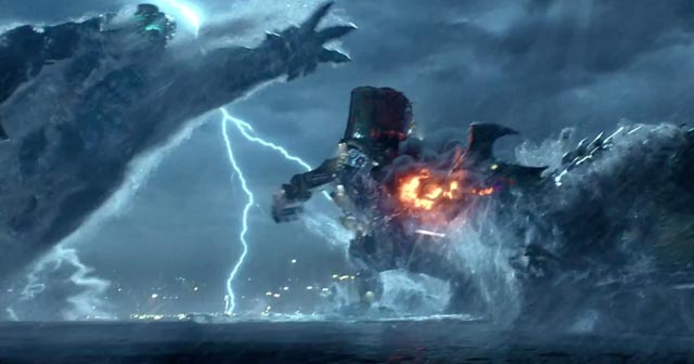 Giant robots fighting giant monsters: what's not to like in Guillermo Del Toro's Pacific Rim?