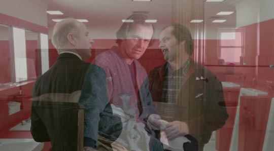 Jack listens in on the sinister conversation between himself and Grady