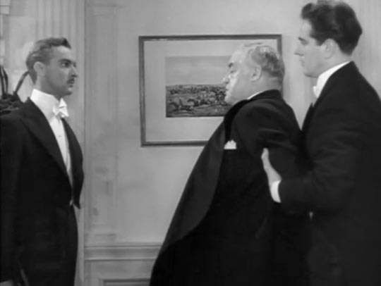 Confronted by one of his victims: Sydney Greenstreet as Buck Mansfield