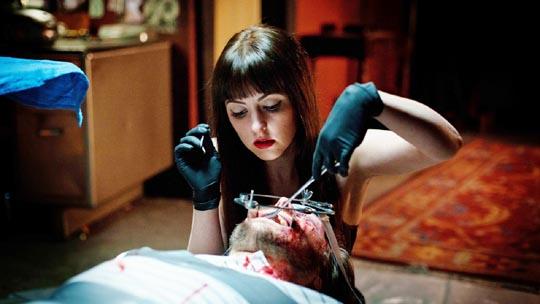 Mary (Katherine Isabelle) schools her teacher