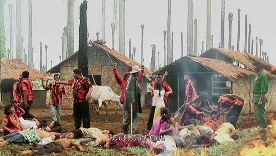 The village massacre