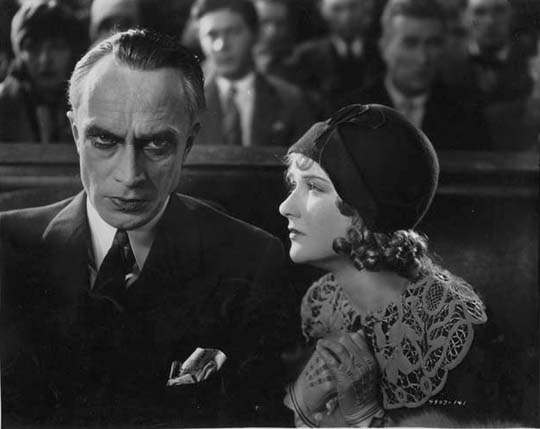 Conrad Veidt & Mary Philbin