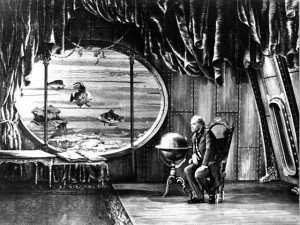 Karel Zeman used a uniquely illustrative style of animation for Invention For Destruction (1958)