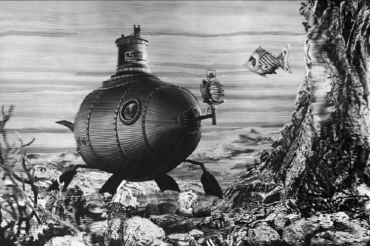 Karel Zeman evokes a magical undersea world in Invention For Destruction (1958)