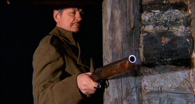 """Charles Bronson as the """"mad trapper"""" in Death Hunt (1981)"""