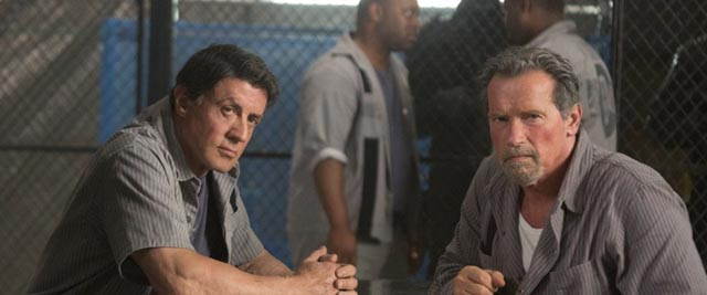 Sly and Arnold: too little to do in Escape Plan