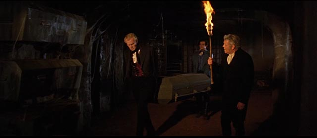 Yet another premature burial courtesy of E.A. Poe and Roger Corman in 1960's Fall of the House of Usher