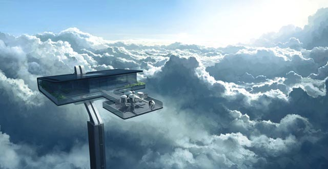 The sky house in Oblivion
