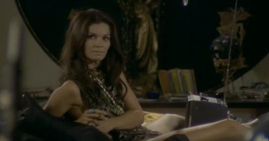 Florinda Bolkan as the Mistress