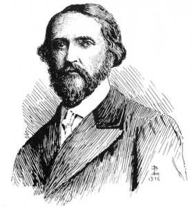 J.S. LeFanu, drawn by his son Brinsley LeFanu