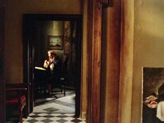 Gerrit Dou (Maurice Denham) counts his money