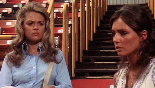 Dyan Cannon & Jennifer O'Neill in Otto Preminger's Such Good Friends